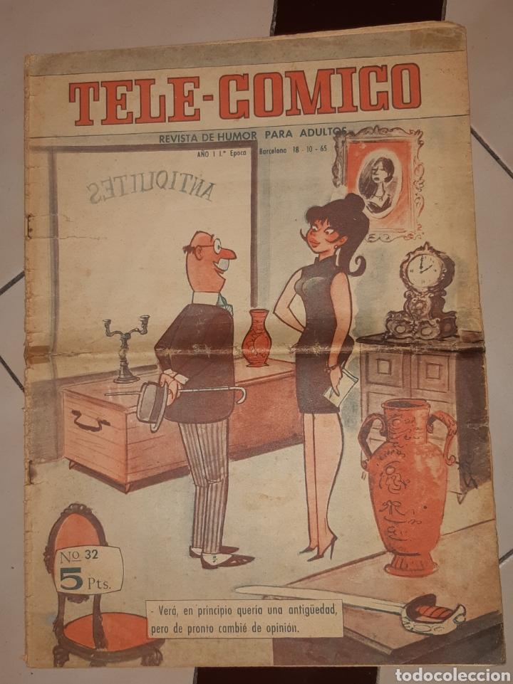 TEBEOS-COMICS CANDY - TELE COMICO 32 - FERMA - MUY RARO- AA97 (Tebeos y Comics - Ferma - Otros)