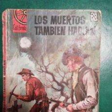 Tebeos: NOVELA DEL OESTE DE ALAR BENEL. Lote 191840540