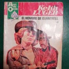Tebeos: NOVELA DEL OESTE DE KEITH LUGER. Lote 191843507