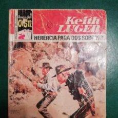 Tebeos: NOVELA DEL OESTE DE KEITH LUGER. Lote 191843596