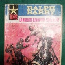 Tebeos: NOVELA DEL OESTE DE RALPF BARBY. Lote 191846270