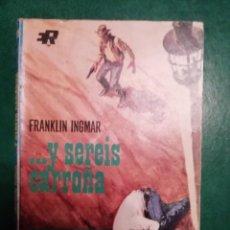Tebeos: NOVELA DEL OESTE DE FRANKLIN INGMAR. Lote 191848771
