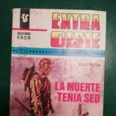Tebeos: NOVELA DEL OESTE DE ROCK MILLER. Lote 191849026