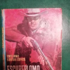 Tebeos: NOVELA DEL OESTE DE EMILIANO SANTOS ZAPATA . Lote 191849105