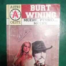 Tebeos: NOVELA DEL OESTE DE BURT WINING. Lote 226113615