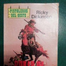 Tebeos: NOVELA DEL OESTE DE RICHY DICKINSON. Lote 191849152