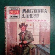 Tebeos: NOVELA DEL OESTE DE GORDON LUMAS . Lote 191849175