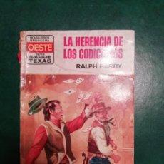 Tebeos: NOVELA DEL OESTE DE RALPH BARBY . Lote 191849595