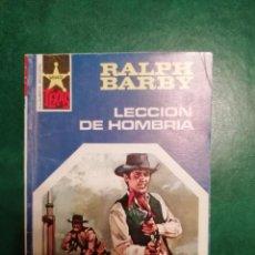 Tebeos: NOVELA DEL OESTE DE RALPH BARBY . Lote 191863805