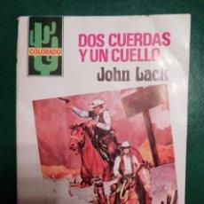 Tebeos: NOVELA DEL OESTE DE JOHN LACK. Lote 191864203