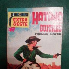 Tebeos: NOVELA DEL OESTE DE THOMAS LOWER. Lote 191864320