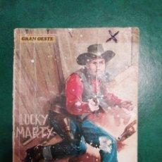 Tebeos: NOVELA DEL OESTE DE LUCHY MARTY. Lote 191865060
