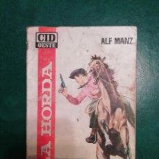Tebeos: NOVELA DEL OESTE DE ALF MANZ . Lote 191880553