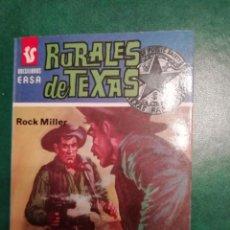 Tebeos: NOVELA DEL OESTE DE ROCK MILLER. Lote 191885632