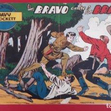 Tebeos: DAVY CROCKETT Nº 2 UN BRAVO ENTRE LOS BRAVOS FERMA ORIGINAL , CT2. Lote 192074271