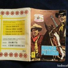 Tebeos: HERENCIA PELIGROSA - SENDAS DEL OESTE 304. Lote 192432016