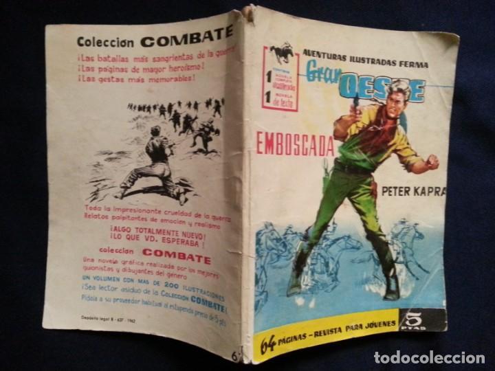 EMBOSCADA - PETE KAPRA - GRAN OESTE 61 (Tebeos y Comics - Ferma - Gran Oeste)