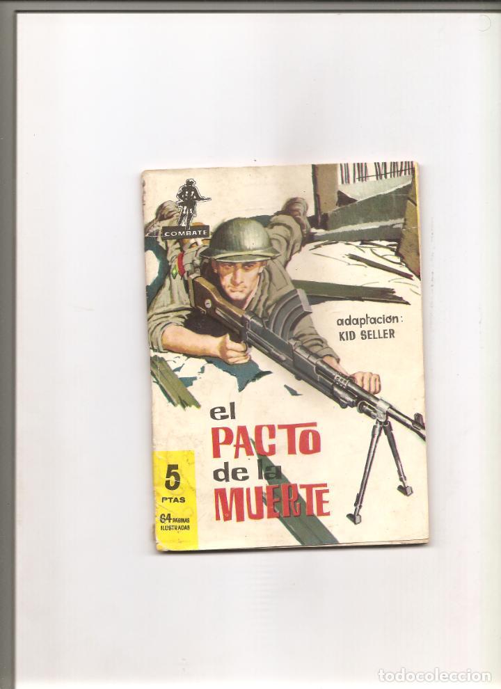 1002. EDITORIAL FERMA. COMBATE. EL PACTO DE AL MUERTE (Tebeos y Comics - Ferma - Combate)
