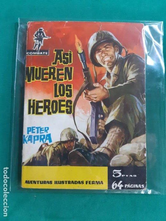 COMBATE Nº 1 EDITORIAL FERMA 1962 5 PTAS (Tebeos y Comics - Ferma - Combate)