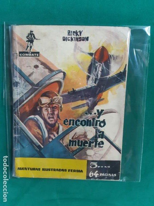 COMBATE Nº 8 EDITORIAL FERMA 1962 5 PTAS (Tebeos y Comics - Ferma - Combate)