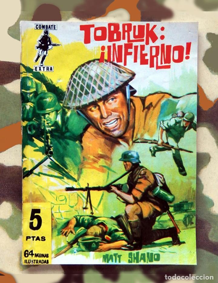 COMBATE EXTRA Nº 10, - EDITORIAL FERMA, 1962 - ORIGINAL (Tebeos y Comics - Ferma - Combate)
