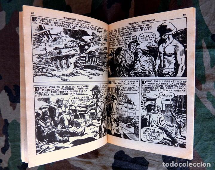 Tebeos: COMBATE EXTRA Nº 10, - EDITORIAL FERMA, 1962 - ORIGINAL - Foto 3 - 192984691