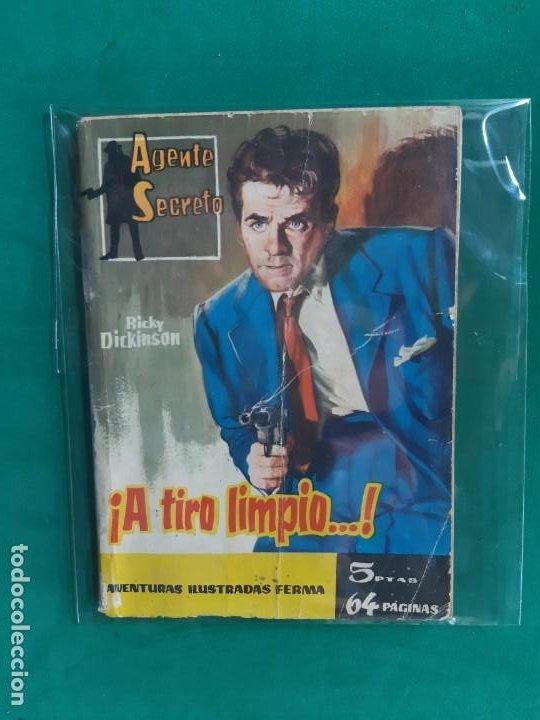 AGENTE SECRETO Nº 3 EDITORIAL FERMA 1962 5 PTAS (Tebeos y Comics - Ferma - Agente Secreto)