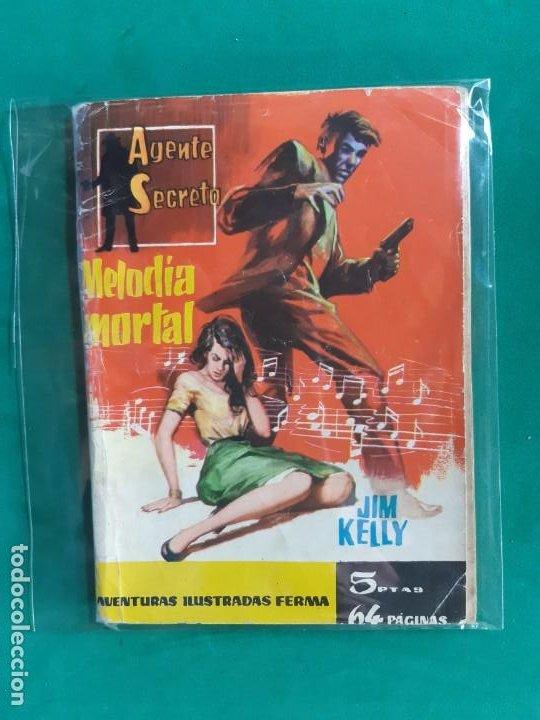 AGENTE SECRETO Nº 4 EDITORIAL FERMA 1962 5 PTAS (Tebeos y Comics - Ferma - Agente Secreto)