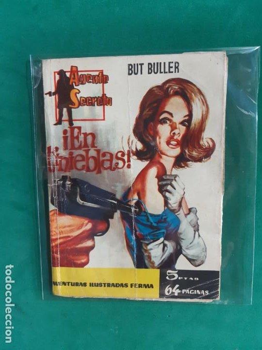 AGENTE SECRETO Nº 6 EDITORIAL FERMA 1962 5 PTAS (Tebeos y Comics - Ferma - Agente Secreto)