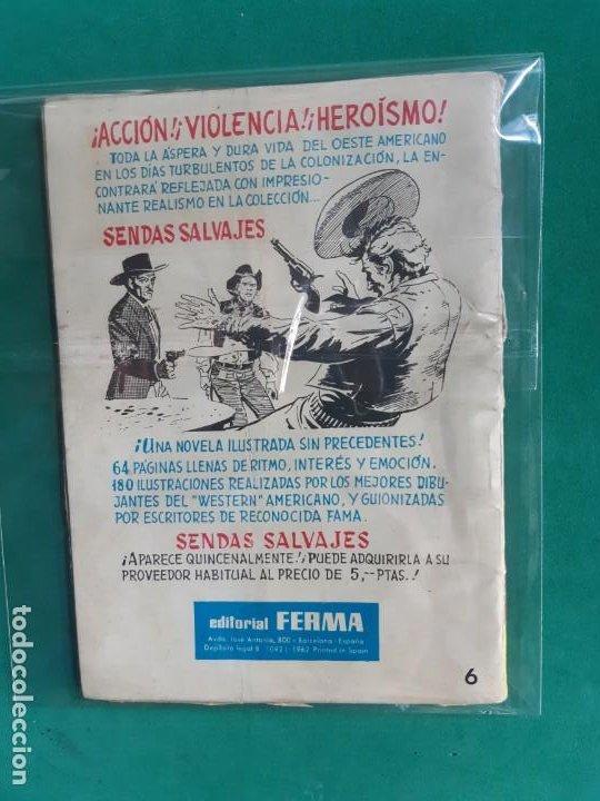 Tebeos: AGENTE SECRETO Nº 6 EDITORIAL FERMA 1962 5 PTAS - Foto 2 - 192985410