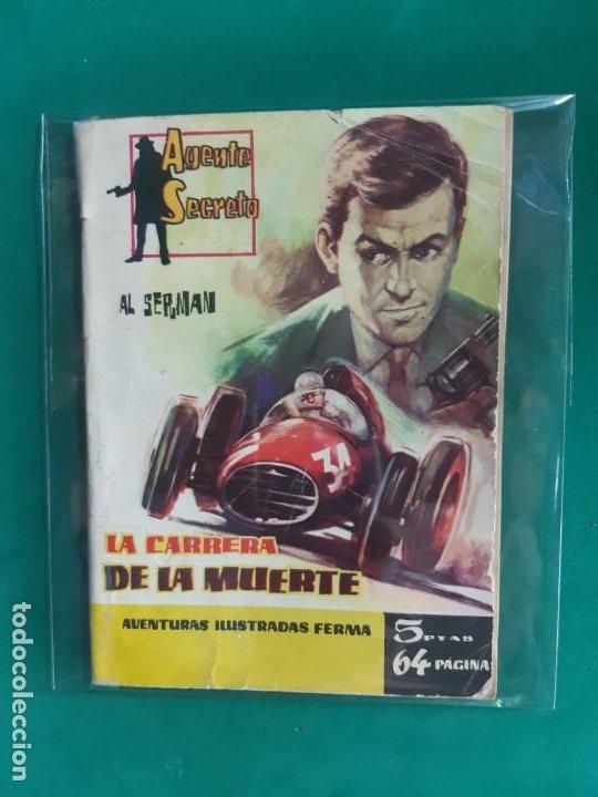 AGENTE SECRETO Nº 8 EDITORIAL FERMA 1962 5 PTAS (Tebeos y Comics - Ferma - Agente Secreto)