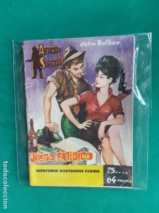 AGENTE SECRETO Nº 9 EDITORIAL FERMA 1962 5 PTAS (Tebeos y Comics - Ferma - Agente Secreto)