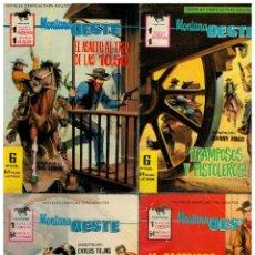 Tebeos: MONTANA OESTE -FERMA 1965- LOTE DE 5 NºS. 233,246,247,248 Y 250. BUENOS. LEER. Lote 194084320