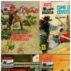 Tebeos: OESTE PISTOLEROS - FERMA 1963 - LOTE DE 6 NºS. 70,73,76,89,131 Y 150. BUENOS.. Lote 194084572