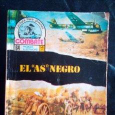 Tebeos: COMBATE- NOVELA GRÁFICA SEMANAL- Nº 37 -EL ´AS´ NEGRO-ÚNICO EN TC-CORRECTO-1974-LEAN-3086. Lote 194289383