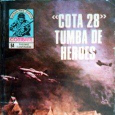 Tebeos: COMBATE- NOVELA GRÁFICA SEMANAL- Nº 174 -´COTA 28´ TUMBA DE HÉROES-MUY DIFÍCIL-BUENO-1979-LEAN-3088. Lote 194291433