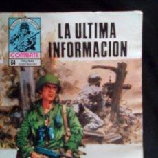 Tebeos: COMBATE- NOVELA GRÁFICA SEMANAL- Nº 202 -LA ÚLTIMA INFORMACIÓN-LOS 5 ASES-N.PIMENTEL-BUENO-1980-3090. Lote 194294932