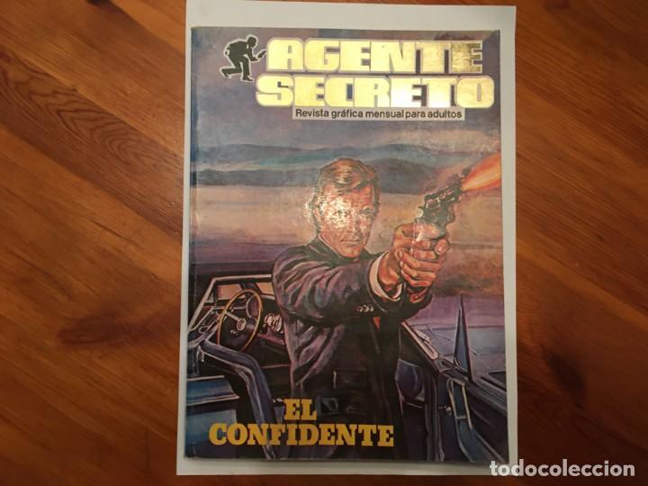 AGENTE SECRETO,EXTRA, CON 4 NUMEROS 2 DE TOP SECRET Nº 2 Y 3 (Tebeos y Comics - Ferma - Agente Secreto)