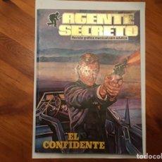 Tebeos: AGENTE SECRETO,EXTRA, CON 4 NUMEROS 2 DE TOP SECRET Nº 2 Y 3. Lote 194508868