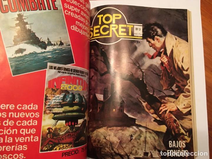 Tebeos: agente secreto,extra, con 4 numeros 2 de top secret nº 2 y 3 - Foto 4 - 194508868