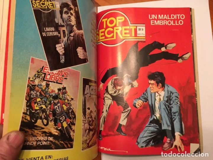 Tebeos: agente secreto,extra, con 4 numeros 2 de top secret nº 2 y 3 - Foto 5 - 194508868