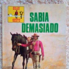 Tebeos: GRAN OESTE- Nº 255 -SABÍA DEMASIADO-1976-JACK KIRBY-ÚNICO EN TODOCOLECCIÓN-BUENO-LEAN-3108. Lote 194517860