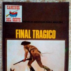 Tebeos: CAMINOS DEL OESTE- Nº 102 -FINAL TRÁGICO-1976-GRAN RIBA COMPTE-M.BUENO-DIFÍCIL-LEAN-3010. Lote 194522818