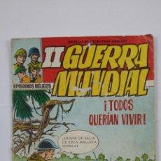 Tebeos: EPISODIOS BELICOS - II GUERRA MUNDIAL Nº 2. TODOS QUERIAN VIVIR. EDITORIAL FERMA. TDKC47. Lote 194615096