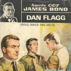 Tebeos: AGENTE 007 JAMES BOND- Nº 16 -CON DAN FLAGG-¡HABLAS DEMASIADO,IMPOSTOR!-1966-CORRECTO-DIFÍCIL-3150. Lote 195112146