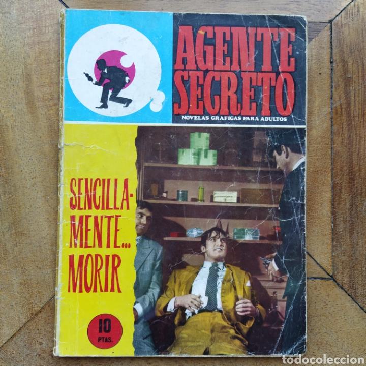 AGENTE SECRETO SENCILLAMENTE MORIR N 30 FERMA (Tebeos y Comics - Ferma - Agente Secreto)