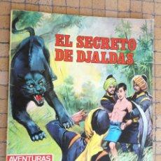 Tebeos: AVENTURAS ILUSTRADAS-1980-Nº 3-´EL SECRETO DE DJALDAS - SERIE LA SELVA - EDITORIAL FERMA 1968. Lote 195438342