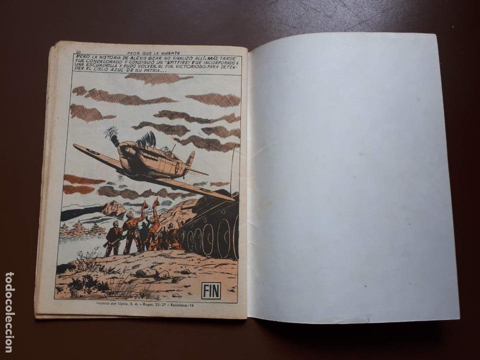Tebeos: Extra Combate - Nº 62 - Peor que la muerte - 1965 - Foto 4 - 195969017