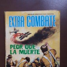 Tebeos: EXTRA COMBATE - Nº 62 - PEOR QUE LA MUERTE - 1965. Lote 195969017
