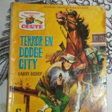 Tebeos: TERROR EN DODGE CITY HARRY BISHOP ED. FERMA 1962 SENDAS DEL OESTE 132 NOVELA ILUSTRADA 64 PAGINAS. Lote 196311523